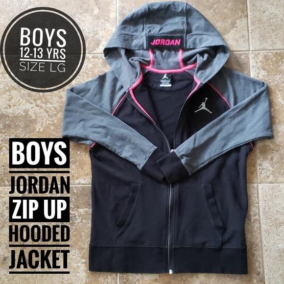 Jordan Other - BOYS JORDAN DRI-FIT HOODED ZIP UP JACKET